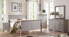 Grey is common and popular color when it comes to home design and decoration. There is definitely something irresistible about this color. http://www.royhomedesign.com/grey-bedroom-furniture-fit-personality/