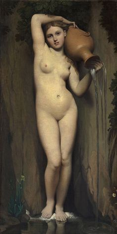 Jean Auguste Dominique Ingres - The Spring - Google Art Project 2 - Jean-Auguste-Dominique Ingres – Wikipedia