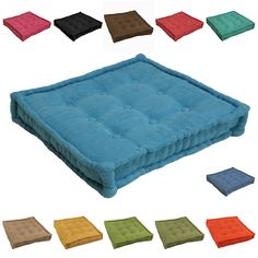 Tufted Corduroy Floor Pillow Urban outfitters, Floor cushions and Nooks