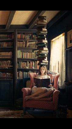 What's better to get your mind off things than putting books on your mind?   http://writersrelief.com