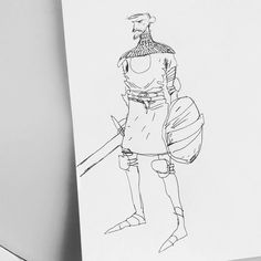 And another old brooding #knight  ___ #illustration #art #artist #instaart #dailyart #artoftheday #doodleartist #pen #pencil #drawing #drawings #sketch #scribble #picoftheday #sketchbook #doodle #kunst #dessin #dibujo #newartwork #instadaily