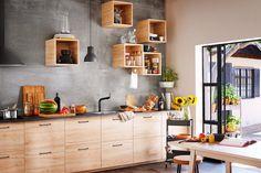ASKERSUND är ett modernt kök med ljusa köksluckor i ask