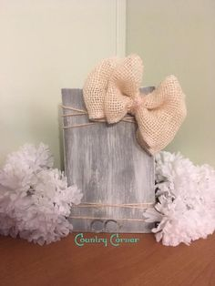 Wood Photo Block   Grey Stain and White – CC's Country Corner
