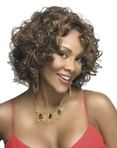 Nothing say's Seductive like gorgeous kinky curls especially on a medium length hairstyle they always seem like they have more volume.