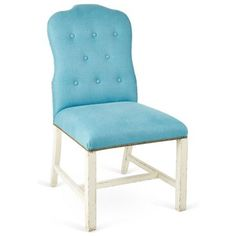 Check out this item at One Kings Lane! Jack Side Chair, Blue