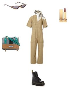 """NY"" by diamara-dostanova on Polyvore featuring мода, Isabel Marant, Dr. Martens, Topshop, Yves Saint Laurent и Prada"