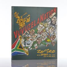 VuvuzelaNation is a collection of more than 200 iconic cartoons from the nation's sharpest bestselling cartoonist, Zapiro. South African Design, Cartoon, Cover, Engineer Cartoon, Comic, Cartoons, Blankets, Comics