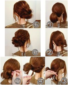 Short Hair Updo, Wedding Hairstyles For Long Hair, Up Hairstyles, Short Hair Styles, Hairdos, Wedding Up Do, Hairdo Wedding, Hair Dye Colors, Hair Color