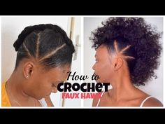 ILLUSION #CROCHETBRAIDS FAUX UPDO | #OUTRE 4 IN 1 CROCHET XPRESSION BOHEMIAN CURL | TASTEPINK - YouTube