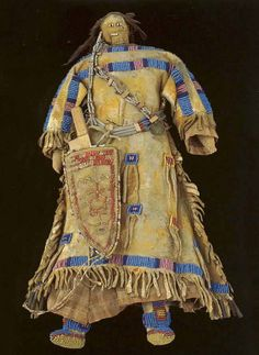 Кукла, Сиу. Коллекция Fenn. Период 1850-1875. Splendid Heritage.