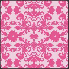 Hyperreal Garden Mirage Fuchsia Art Gallery   von Handbags-and-more auf DaWanda.com