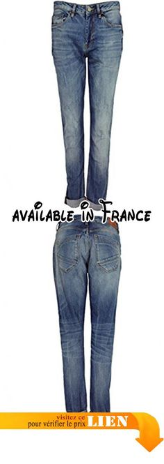 B00RP9I8GM : Fransa Distressed Boyfriend Fit Jeans - - . Nouvelle saison printemps été 2015. 98% coton 2% elasthane. Machine à 30degrés. Taille de l'image. favoriser fransa jeans vieilli en une sur tendance boyfriend Fit forme
