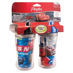 Playtex Insulator Spout - Cars (2 Pack)