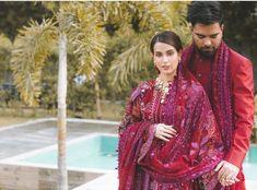 Iqra Aziz's latest photo shoot with fiancé Yasir Hussain - The Odd Onee Bridal Photoshoot, Bridal Shoot, Iqra Aziz, Traditional Wedding, Indian Wear, Bridal Dresses, Actresses, Celebrities, Photo Shoot