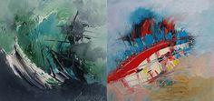 Haftanın Sanatçısı / #Artist of the Week: Ahmet Çelikbaş | #abstractpainting #contemporaryart #soyut