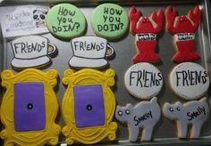 Ordencita de hoy! 😍❤🍪💪🎉🐼 #mycookiecreations #friends #friendscookies #cookies