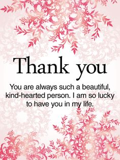 To A Kind Hearted Person