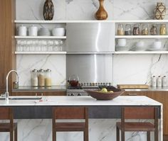marble and wood [repinned from Joslyn Taylor]