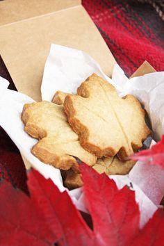 maple and brown sugar shortbread