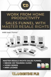 Work From Home Productivity Sales Funnel With Master Resale Rights  | #MasterResaleRightsSaleFunnels #MRRSaleFunnels #MRRProducts #MRR #MasterResaleRights Todo List, Feeling Trapped, Water Coolers, Someone New, Getting Up Early, The Last Time, Feeling Overwhelmed, Online Work, Going Crazy