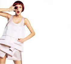 fashion editorials, shows, campaigns & more!: yulia merzlyakova by dimitris skoulos for elle greece march 2013 Elle Fashion, Fashion Lookbook, White Fashion, Fashion Models, Fashion Show, Womens Fashion, Fashion Design, Prada Spring