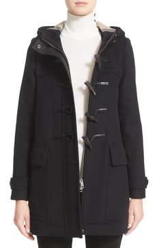 Main Image - Burberry 'Baysbrooke' Wool Duffle Coat