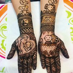 It was fun doing these baby shower designs for lovely Nikita! Traditional Mehndi Designs, Indian Mehndi Designs, Full Hand Mehndi Designs, Mehndi Designs 2018, Modern Mehndi Designs, Mehndi Design Pictures, Wedding Mehndi Designs, Beautiful Henna Designs, Mehndi Images
