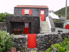 Pico, Portugal, Folk, Rest, Graphics, Island, Mansions, House Styles, Amazing