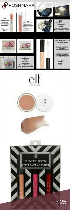 💅 ELF MAKE-UP BUNDLE 💄 New in packaging or sealed. Price firm. ELF Makeup