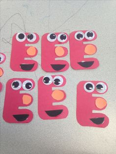 letter e craft idea - Preschool Crafts Letter E Craft, Preschool Letter Crafts, Preschool Craft Activities, Alphabet Letter Crafts, Abc Crafts, Preschool Projects, Daycare Crafts, Alphabet Book, Number Crafts