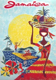 Travel Poster - Jamaica - 1960