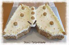 Silvia's Tortenträume: Schmetterlingstorte Schmetterling Cake Kuchen Tutorial Anleitung  https://www.facebook.com/SilviasTortentraeume/photos/pcb.596360523798273/596360320464960/?type=1&theater