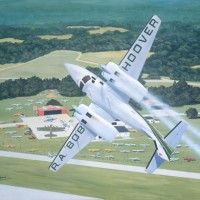Bob Hoover maneuver - loved watching his flying