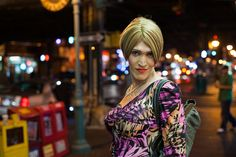 Really great street photographer, Chris Arnade, via Flickr. This is Marina in Jackson Heights, Queens