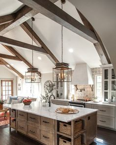 38 best kitchen with high ceiling images future house house rh pinterest com