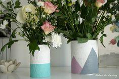 diy vase boite conserve lait bébé recup