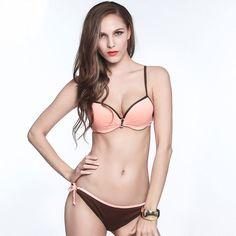 $22.41 (Buy here: https://alitems.com/g/1e8d114494ebda23ff8b16525dc3e8/?i=5&ulp=https%3A%2F%2Fwww.aliexpress.com%2Fitem%2FPush-Up-Underwire-Sexy-Women-Bikini-Strappy-Swimwear-Elegant-Style-Bikinis-New-Design-Beach-Wear-Three%2F32693372416.html ) Plus size Strappy Bikinis Women Swimsuit Solid 3 Colors Adjustable Low waist Swim Wear Push Up New Sexy Micro Bikinis Beachwear for just $22.41