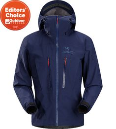 Alpha SV Jacket Men's Newly redesigned with enhanced GORE-TEX® Pro fabric with a softer face and a refined fit. A fortress for extreme mountain conditions; ideal for climbing and alpinism. Our most durable waterproof shell built with GORE-TEX® Pro textile
