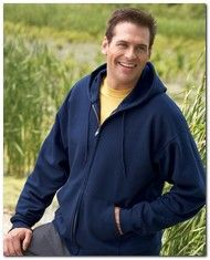 As Low As > $20.37 > Hanes P180 ComfortBlend 50/50 Full-Zip Hood > Available Colors: 10 > Size: S - 3XL