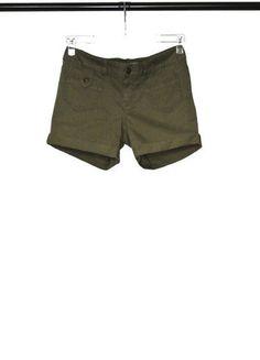 Kup mój przedmiot na #vintedpl http://www.vinted.pl/damska-odziez/szorty-rybaczki/13733105-szorty-khaki-vero-moda-m-nowe