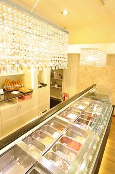 Designing an ice cream shop by Marchi Contract, via Flickr