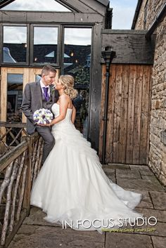 A romantic winter wedding at The South Causey Inn,Stanley.