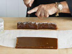 Try This at Home: Salted Caramels from FoodNetwork.com