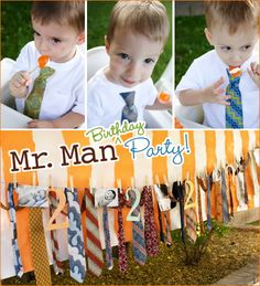 "OMG!!! i think this is it!! this is on the top of my list! ""Mr. Man"" Birthday Theme for Myles' first birthday!"