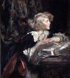 Portrait of Lady Diana Manners  Sir James Jebusa Shannon