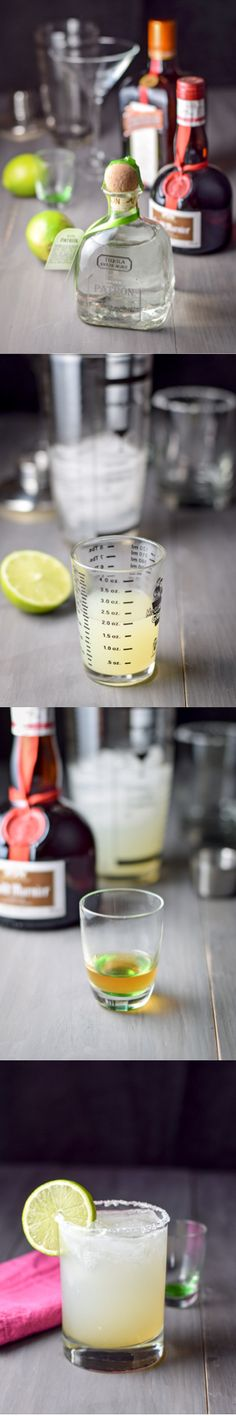 This delicious, festive cocktail is best when made with top shelf brands. I recommend Patron Silver tequila, Cointreau, Gran Marnier, fresh lime juice, and simple syrup. Margaritas are great for parties and celebrations, especially during the summer, because they're cold, refreshing (it's the lime!) and light. You can drink more than one and they still taste great! Click here for my recipe and more information: http://ddel.co/cadillac-margarita