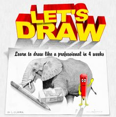 Drawing Lessons: Easy Step by Step Drawing Tutorials Teach You How to Make Your Own Cool Drawings