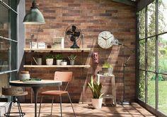 Pavimento o revestimiento Treverkcharme marrone 10x70 cm Brick Marazzi Italian Ceramiche Tienda Online Amado Salvador