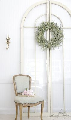 Fresh Eucalyptus Wreath - FRENCH COUNTRY COTTAGE