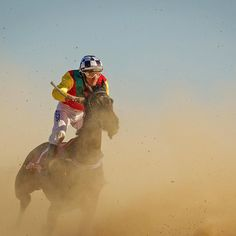 The Birdsville Races are held each year in September in the town of Birdsville Queensland Australia. During the two day event in the heart of Australia's outback the town of Birdsville with a population of 120 swells to 12000. Photo by Sharon Chapman @fasttrackphoto #BirdsvilleRaces by sportsillustrated